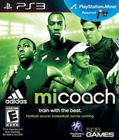 miCoach PS3 (Sony PlayStation 3, 2012) Brand New