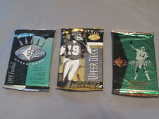 1993/1994/1995 Upper Deck SP Sealed Packs Bledsoe/Faulk/Bettis Rookies