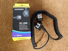 Nikon Fit SC-28B off camera shoe cord