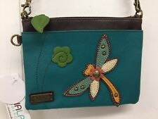 Chala Dragonfly Turquoise Mini Crossbody Bag Small Convertible New with Tags