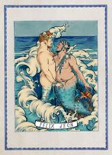 Transgender Mermen Trans Love Merman Queer Art LGBT Romance Felix dEon - Poster