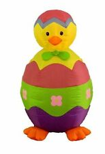 Easter Inflatable Baby Chick and Egg Lawn Spring Yard Indoor Outdoor Decoration
