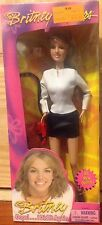 BRITNEY SPEARS OOPS I DID IT AGAIIN WHITE TOP BLACK SKIRT DOLL NIB