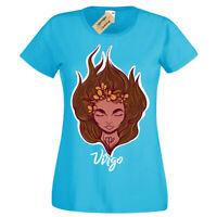 Virgo T-Shirt Star Sign horoscope Womens Ladies