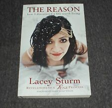 LACEY STURM SIGNED THE REASON BOOK  LIFE SCREAMS CD PHOTO PROOF FLYLEAF COA