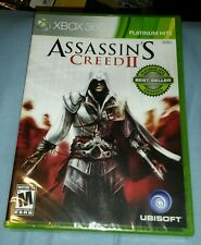 ASSASSINS CREED II 2 XBOX 360 PH GAME MICROSOFT YFOLD FACTORY SEALED BRAND NEW