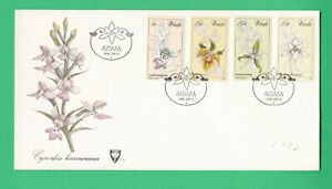 Venda 1981 Orchids Flowers FDC First day Cover South Africa Botany Sibasa cachet