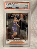 2019-20 Cameron Johnson Phoenix Suns Panini Prizm Rookie Card PSA 9 /10?