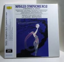 Bernstein MAHLER Symphony 8 & 10 180g VINYL 3xLP BOX Sealed ANALOGPHONIC Germany