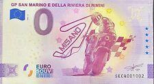 BILLET 0 EURO GP SAN MARINO E DELLA RIVIERA DI RIMINI MISANO 2021 NUMERO DIVERS