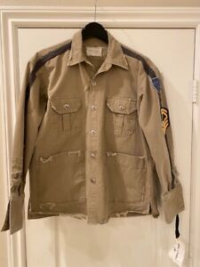 Greg Lauren 1 of a kind Jacket Military style size 1 small NWT