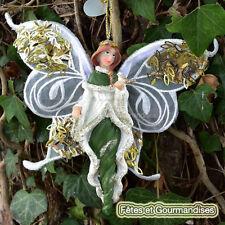 Ange fee goodwill decoration noel fetes cadeau vert emeraude