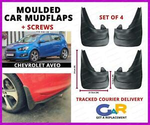 Universal Fit Car MUDFLAPS Mud Flaps for Chevrolet AVEO CRUZE ...