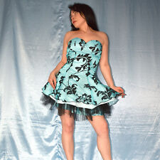 blaues, kurzes COCKTAILKLEID* S 36  Abendkleid* Etuikleid* Partykleid* Ballkleid