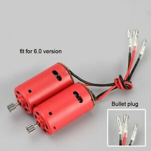Henglong 1/16 Tank Red Motors for Metal Driving Gearbox Spare Part With 6.0 Plug