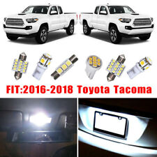18x White Bulbs Interior LED Lights Bulb Package Kit For 2016-2018 Toyota Tacoma