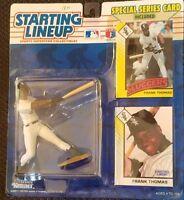 1993 Frank Thomas Starting Lineup Card/Figure/Display Box Mint