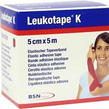 Leukotape K 5 cm rojo 1 St