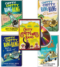 Chitty Chitty Bang Bang, Race Against Time + by Ian Fleming (Paperback) plus DVD