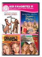 4 Kid Favorites: Mary-Kate & Ashley Travel the World [New DVD] Boxed Set