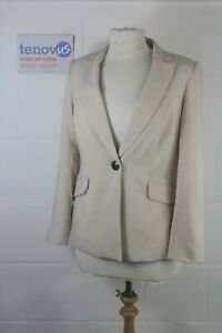 WG217 Mint Velvet Hazelnut Boyfriend Blazer Size 8