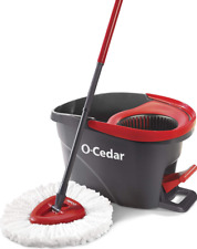 O-Cedar EasyWring Microfiber Spin MOP And Bucket Floor Cleaning System NEW-HOT