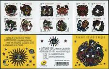 France 4554-4565a booklet,MNH. Sings of Zodiac,2014.