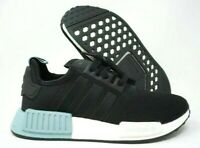 Adidas NMD_R1 Womens Running Shoes Core Black Ash Grey Size 6.5