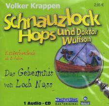 HÖRBUCH-CD - Schnauzlock Hops und Dr. Wuffson - Das Geheimnis von Loch Nass