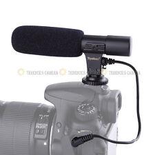 MIC-01 Professional Shotgun Stereo Microphone for 3.5mm MIC DSLR Camera DV etc.