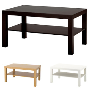 IKEA Lack Coffee Sofa Table With Shelf - Home Office Furniture 90x55cm