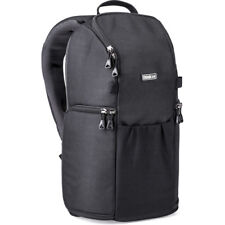 NEW THINK TANK PHOTO TRIFECTA 8 MIRRORLESS BACKPACK BLACK FOR 3 LENSES & IPAD