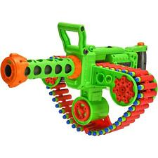 Big Nerf Machine Gun Motorized Gatling Automatic Belt Shooting Blaster Kids Toy