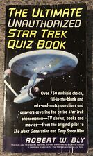 The Ultimate Unauthorised Star Trek Quiz Book By Robert W. Bly