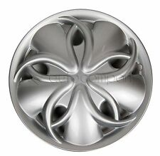 "Silver 13"" Hub Caps Full Wheel Rim Covers w/Steel Clips (Set of 4) - KT-912S-13"