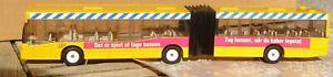 SIKU 3517 City-Bus MB O405GN Autosnodato, Pullman Linea Bus 1:55 Danimarca Raro