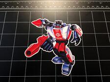 Transformers G1 Red Alert box art vinyl decal sticker Autobot toy 1980's 80s