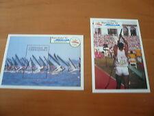Grenada/Grenadinen  Olympia 1992 Barcelona  Bl. 202 , 203 postfrisch