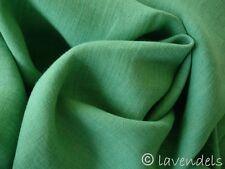 Stoff Leinen ♥ dunkelgrün grün mittelschwer Trachten Dirndl antik finish aussee