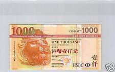 HONG KONG BANQUE HSBC 1 000 DOLLARS 1.1.2005 N° CF959837 PICK 211 b