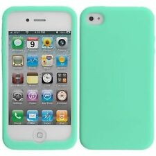 Silicone/Gel/Rubber Cases, Covers & Skins for Apple Phones