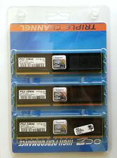 Memorias OCZ Intel Certified DDR3 1600Mhz 3x2GB Triple Canal