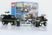 Lego 7032 Police 4WD and Undercover Van Complete Vintage Set World City 2003