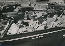 Nikita Khrouchtchev -  Nikolaï Boulganine 1955 -Délégation Russe  Genève- PR 379