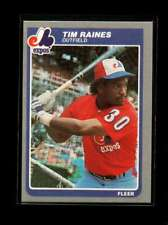 1985 FLEER #405 TIM RAINES NMMT EXPOS