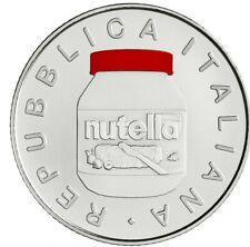 Italien 2021 5 Euro Nutella rot Silber - Italienische Exzellenz