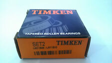 Timken Set 2 ( LM11949 & LM11910) Cup & Cone Tapered Roller Bearing