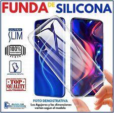 FUNDA SILICONA TRASPARENTE PARA HTC ONE M8 / HTC M8S CARCASA CUBIERTA TPU M 8 S