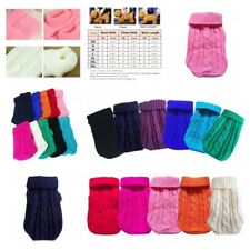 Pet Winter Sweater Portable Dog Puppy Soft Knitwear Warm Clothing Accessories