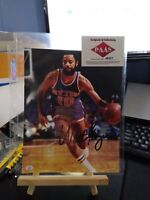 Walt Frazier autographed signed 8x10 photo NBA New York Knicks With COA